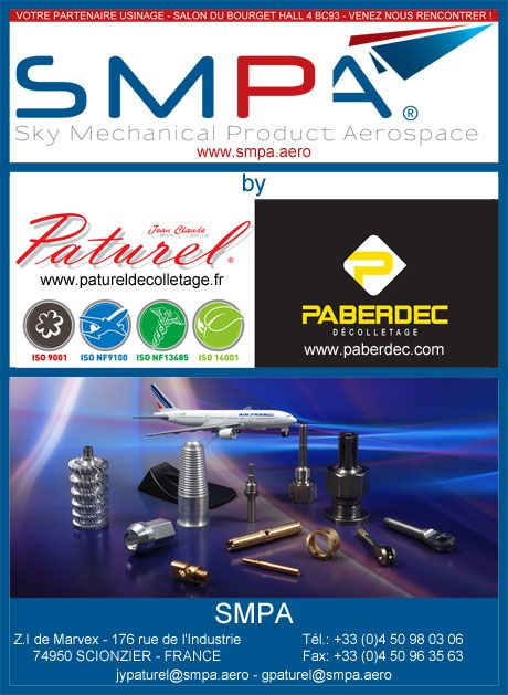 SMPA - Sky Mechanical Product Aerospace au salon du Bourget