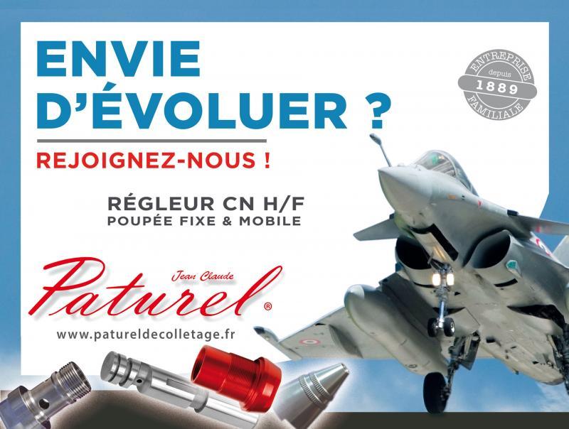 Recherche régleur CN H/F